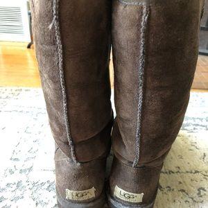 Women's Talk Dark Brown Ugg Boots
